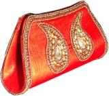 Aartisto Women Casual Red  Clutch