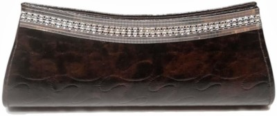 MTE Women Casual, Party Brown  Clutch