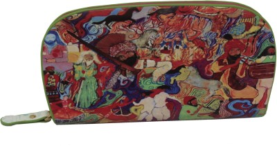 Sushito Women Casual Multicolor  Clutch