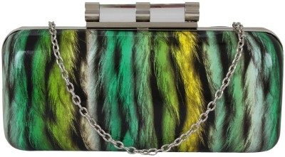 PamperVille Party Green  Clutch