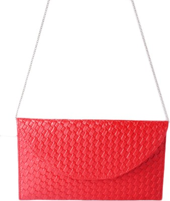 Haster Red  Clutch