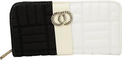 Fashion Knockout Women Casual Black, White  Clutch