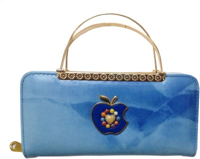 MSELACTOS Wedding, Casual, Party, Formal Blue  Clutch