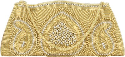 Spectrum Bags Party, Wedding Gold  Clutch