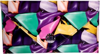 Womaniya Girls Casual Multicolor  Clutch
