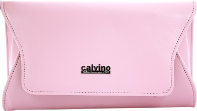 Calvino Women, Girls Casual, Formal Pink  Clutch