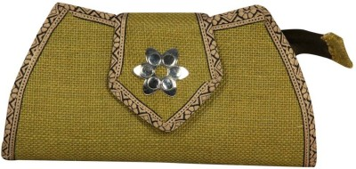 Lukluck Casual, Party, Formal Green  Clutch