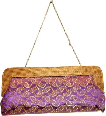 Women Trendz Women Casual, Party Purple  Clutch