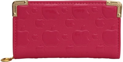 JCM Creations Casual Pink  Clutch