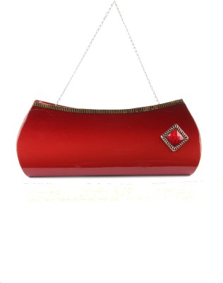 D AUSTIN KING Casual, Party Red  Clutch