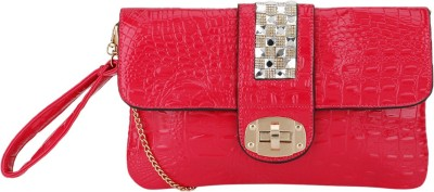 Picon Casual, Party, Festive Pink  Clutch