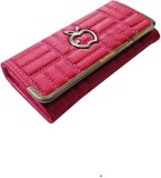 JD Women Pink  Clutch