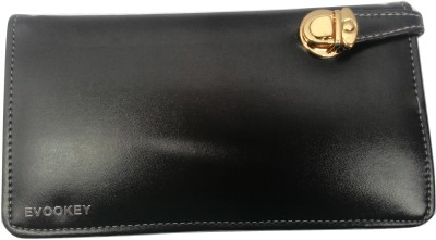 Evookey Wedding, Casual, Party, Formal, Festive Black  Clutch