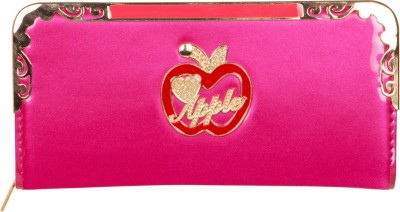 Fashion Leather Party Pink  Clutch