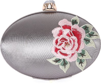 Zotti Women Festive Grey  Clutch