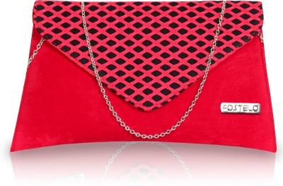 Fostelo Women Casual Red  Clutch