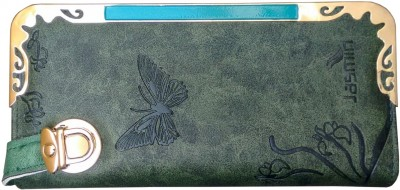 Ud Creation Casual, Formal, Party Green  Clutch