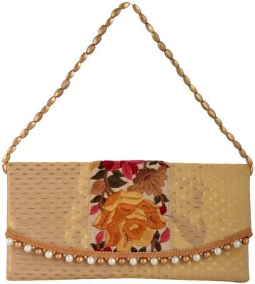 Arisha kreation Co Festive Gold  Clutch
