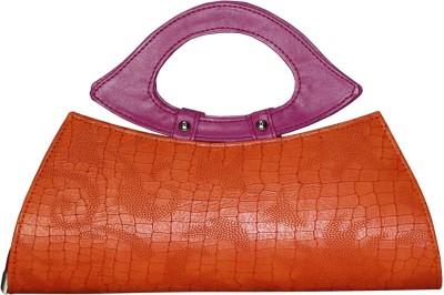 Moda Desire Girls Casual Orange  Clutch