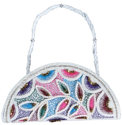 Youth Mantra Women Party Multicolor  Clutch