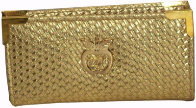 catchy Party Gold  Clutch