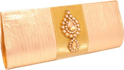 Vendee Fashion Wedding Gold  Clutch