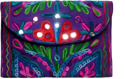 Craft Store India Girls Casual Multicolor  Clutch