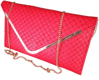 Lion Heart Party Red  Clutch