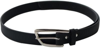 SkyWays Women Formal, Casual Black Artificial Leather Belt