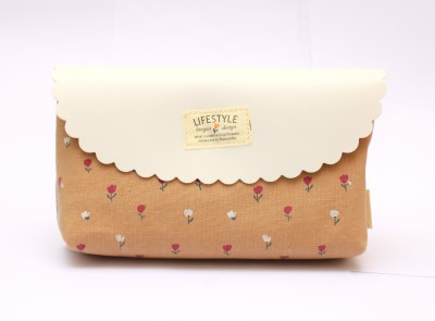 Languo Casual Brown  Clutch