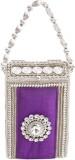 Saiarisha Women Festive Purple  Clutch
