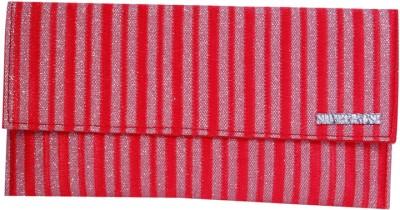 Womaniya Girls Casual Red  Clutch