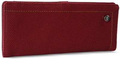 Baggit Women Maroon Artificial Leather Wrist Wallet
