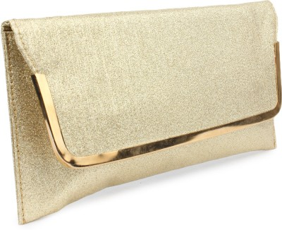 Do Bhai Festive, Party Gold  Clutch