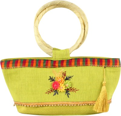 Cliink Bags Party Green  Clutch