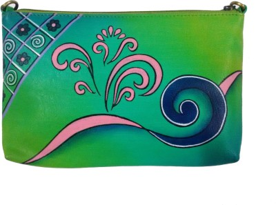 Balona Party, Festive, Wedding Green  Clutch