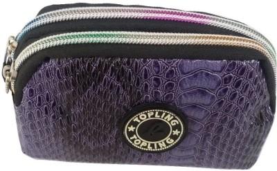 Viva Fashions Women Casual Purple  Clutch