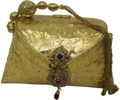Mex Women Party Gold  Clutch