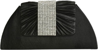 Naitik Products Black  Clutch