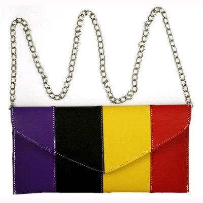 Ledera Women Party Multicolor Clutch
