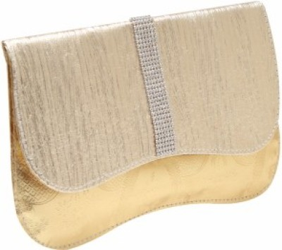 StyleSaga Gold  Clutch