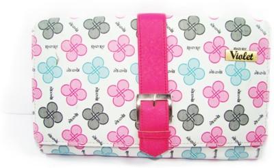 VIOLET Casual, Party, Formal Pink  Clutch