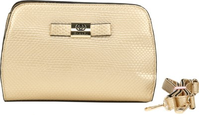 Luxury Living Casual, Festive, Formal, Party, Sports, Wedding Gold  Clutch