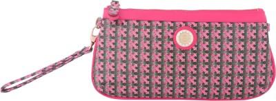 Priya Exports Pink  Clutch