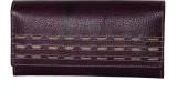 Alligate Women Formal Purple  Clutch
