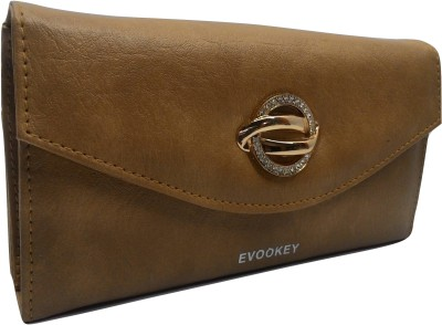 Evookey Casual, Formal Khaki  Clutch