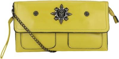 Liza Casual Yellow  Clutch