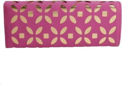 Whate Look Casual Pink  Clutch