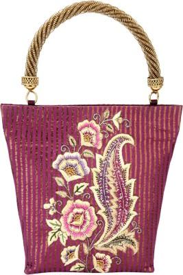 Rumani Creations Women Festive Pink  Clutch