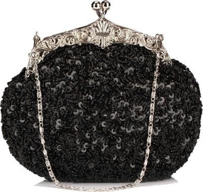 Chicastic Women Wedding Black  Clutch